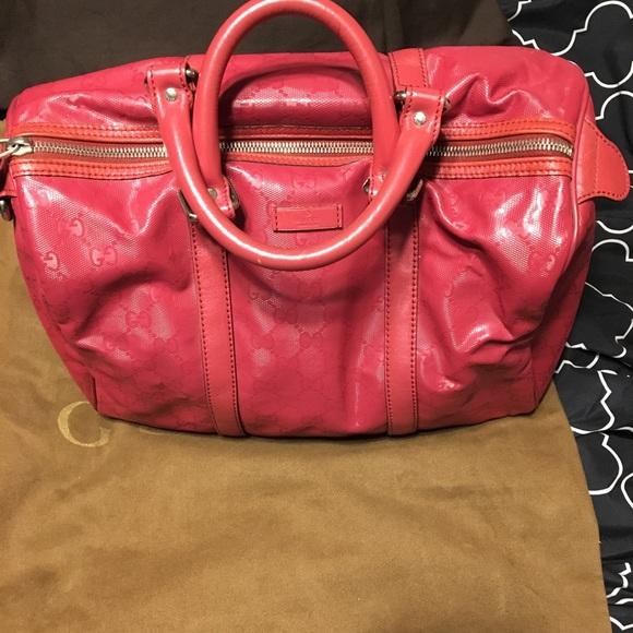 8693216a0588 Gucci Bags   Imprime Coated Joy Medium Boston Bag   Poshmark